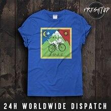 Albert Hofmann Lsd Trip T Shirt Top Bicycle Day 1943 Acid Psychedelic Dopes Gift Men  Summer Cotton Men Fashion T-Shirt