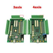 USB CNC Mach3 3 axis 4 axis engraving machine milling E-CUT motion control card engraving machine motion control card