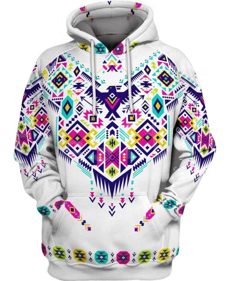 Tessffel Indian Native culture Harajuku Casual Colorful Tracksuit New Fashion 3DPrint Unisex Hoodie/Hoodies/Jacket Men Women s-1
