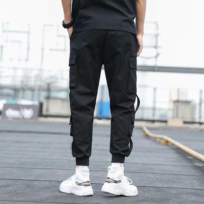 Чоловічі бічні штани з кишенями, - Чоловічий одяг - фото 4