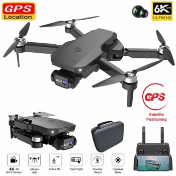 K518 GPS Drone Met/Zonder 6K Dual HD Camera Aerial Photography Brushless Motor Foldable Professional Quadcopter RC Helicopter