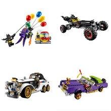 Nouveau Batman gobelet films figurines Batpod Batmobile ensemble blocs de construction Lepining ville jouets techniques briques