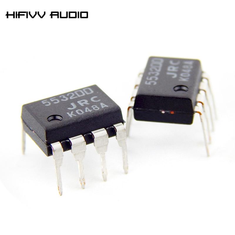 2 uds. Amplificador operativo japonés JRC5532DD, amplificador de preamplificador de alta fidelidad, amplificador único op jrc5532, mejor que NE5532