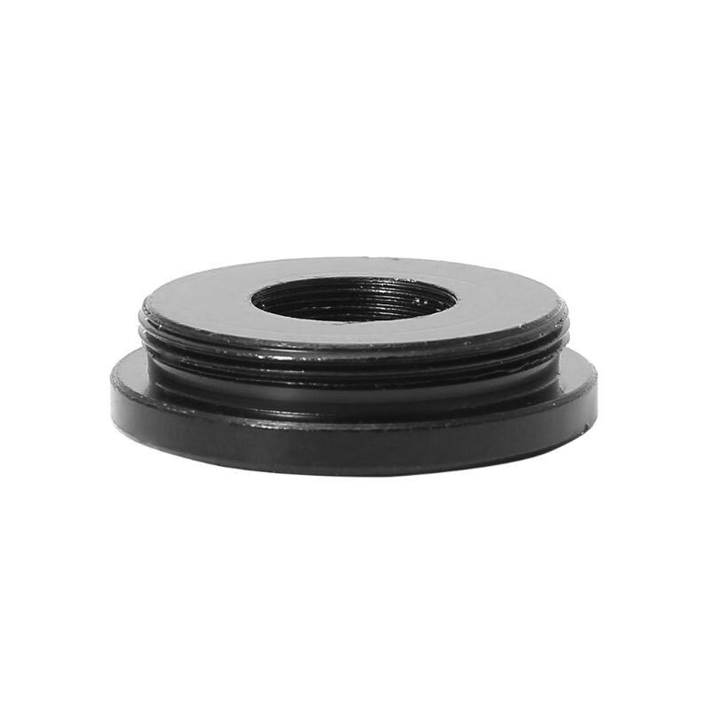 Metal preto c/cs montagem para m12 placa cctv lente adaptador conversor anel para ahd sony ccd tvi cvi caixa câmera suporte acessórios