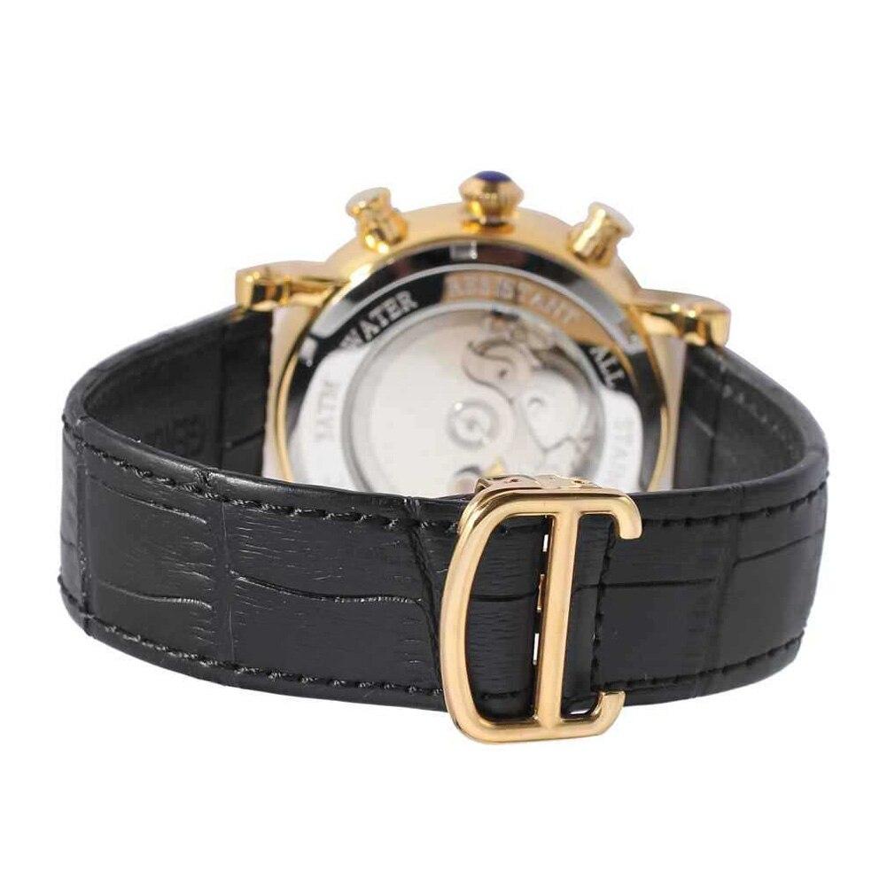 Life waterproof Luminous Mechanical Watch Men 2021 Tourbillon Automaticultra Luxury Calendar Thin Watch Men Automatic Mechanical enlarge