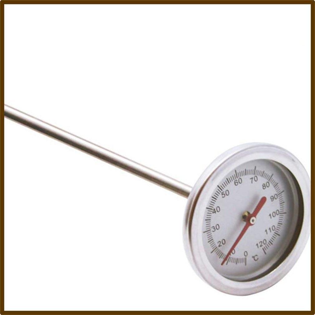 20 zoll 50cm Länge 0-120Celsius Kompost Boden Thermometer Premium Food Grade Edelstahl Metall Mess Sonde Detektor