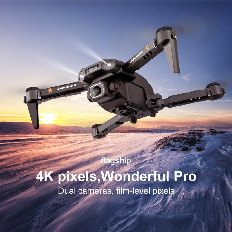 JINHENG New Mini Drone XT6 4K 1080P HD Camera WiFi Fpv Air Pressure Altitude Hold Foldable Quadcopter RC Drone Kid Toy GIft enlarge