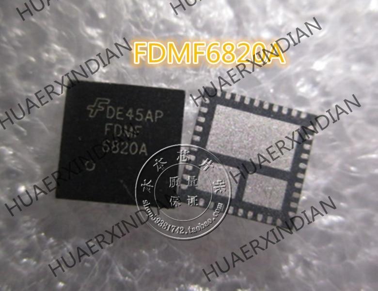 Nuevo DE45AP FDMF6820A FDMF 6820A de alta calidad