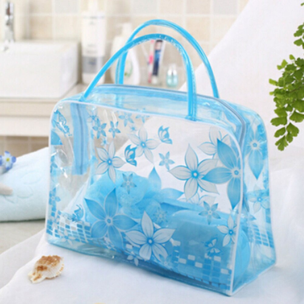 women 1pc pvc small makeup bags new creative travel transparent cosmetic bag wash pouch beauty storage case toiletry bag 1pc PVC Cosmetic Bag Casual Transparent Make Up Women Bag Toiletry Waterproof Travel Storage Beauty Makeup Wash Case