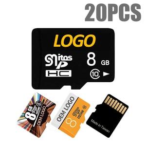 Карта памяти MicroSD 32/16/8/64/128/256 ГБ, класс 10