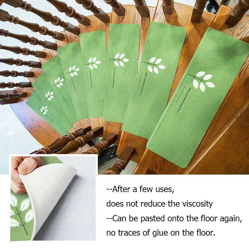 Нескользящий коврик для лестницы, светящийся самоклеящийся нескользящий абсорбирующий коврик для лестницы