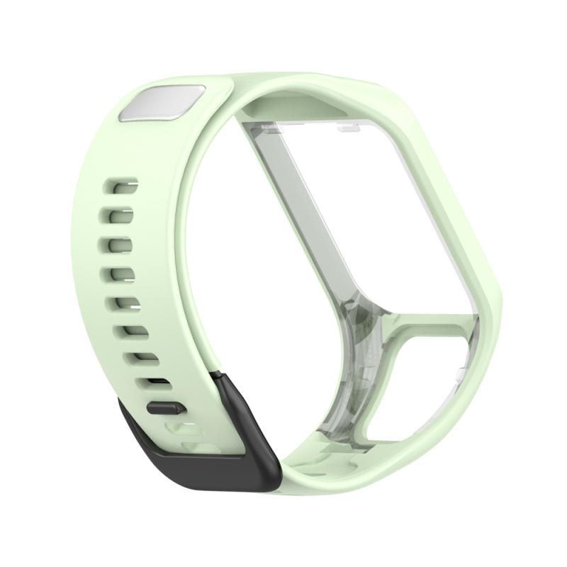 2021 New Silicone Wrist Strap For TomTom Runner 4 Sports Watch Band Replacement Bracelet Silicone Wrist Strap Smart Accessories