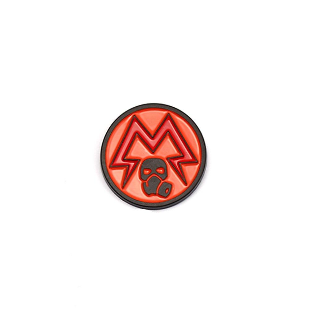 Juego de PC Metro Exodus 2033 broche con insignia esmaltada Metal broches colección solapa Pins regalo accesorios Cosplay