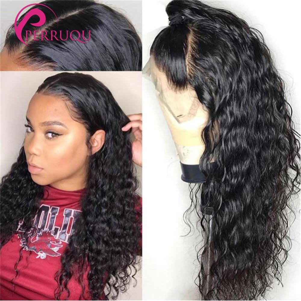 Water Wave Wig 13X6 HD Lace Front Human Hair Wigs For Women Brazilian Perruque 40 Inch 4X4 5X5 6X6 C