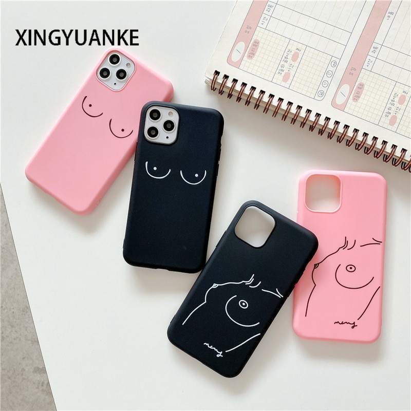 aliexpress.com - Sexy Chest Lines Cover For OPPO F5 F7 F9 Pro A3S A5 A52 A72 A92 A31 A53 2020 Reno 2 2Z 4 Pro Find X2 Silicone Candy Color Case