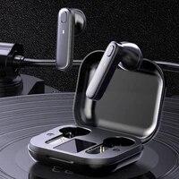 r20 tws earphone bluetooth compatible wireless headset deep bass earbuds true wireless stereo headphone with mic sport earphone