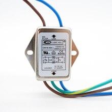 Filtre électrique EMI 115V/250V 6a   Équipement électrique, puissance pcb 6A 30a, filtre emi, ligne électrique monophasé