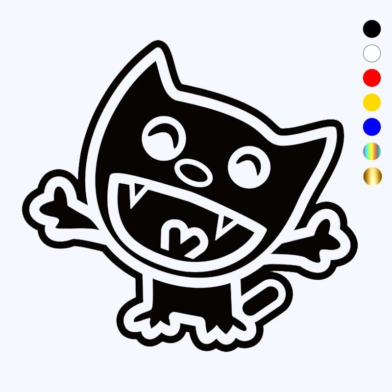 CK20028# наклейки на авто Веселый котенок водонепроницаемые наклейки на машину наклейка для авто автонаклейка стикер этикеты винила наклейки ...