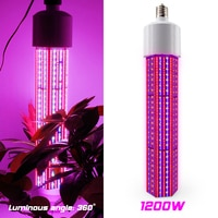 E40 1200W 2460pcs SMD LED Plant Grow Lights Corn Shape Greenhouse Horticulture Hydroponics AC85-265V LED Grow Bar Lamp