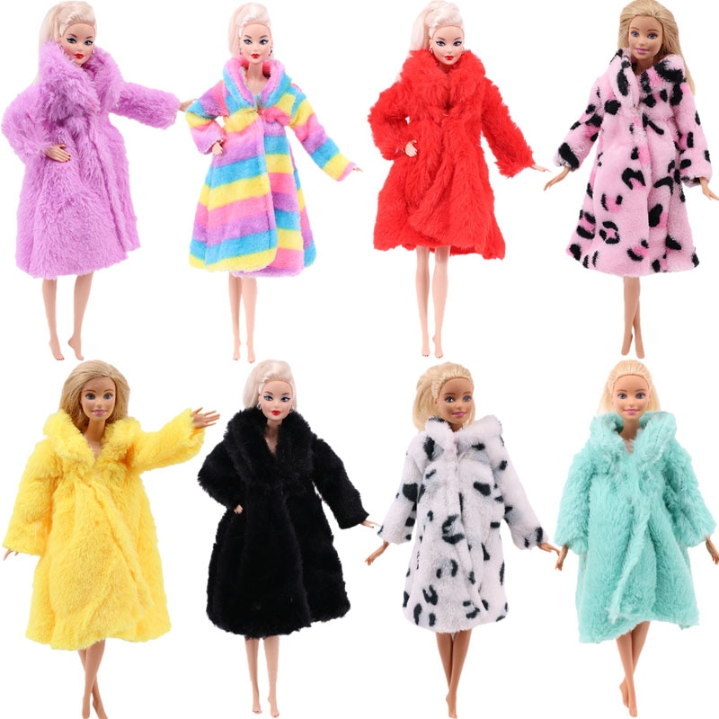 Boneca roupas, 11 estilos para russo diy aniversário meninas artesanal barbied moda roupas do bebê meninas presentes de natal crianças brinquedos