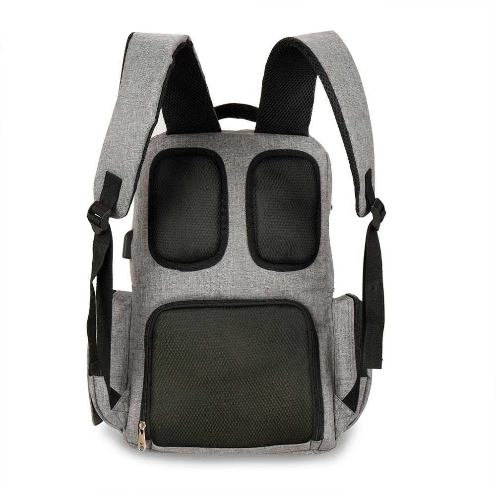 Fashion mummy waterproof USB diaper bag maternity nappy bags  stroller travel backpack multi-pocket nursing bag for baby care enlarge