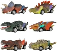 dinosaur toy pull back cars6 style toys for boys and toddlersboy toys age 3 and uppull back toy carsdinosaur game with t rex