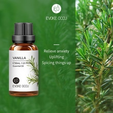 EO 30ML 100ML Vanilla Essential Oil Diffuser for Healthy Calming Sterilization Air Fresh Care Body R