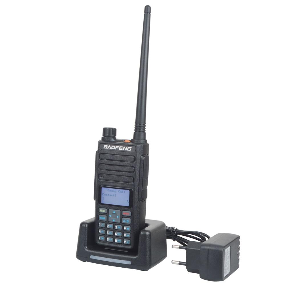 Baofeng DM-1801 Walkie Talkie DMR Digital Analog Comptabile Dual band VHF/UHF Portable Two Way Radio with Earphone