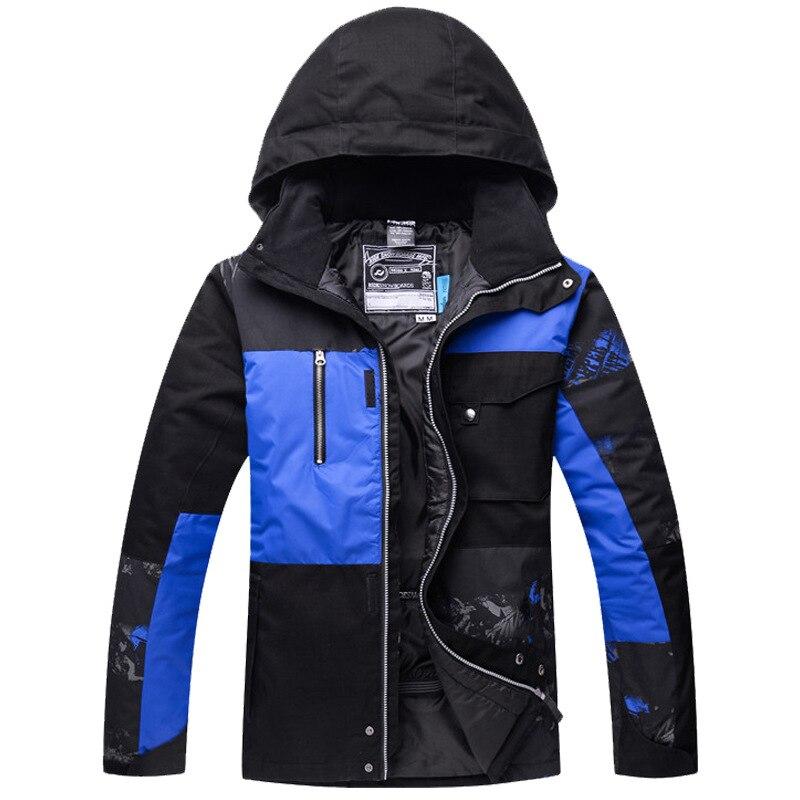 Traje de esquí de los hombres soporta una generación de grasa resistente al viento impermeable cálido desgaste-resistente Snowboard traje de esquí al aire libre