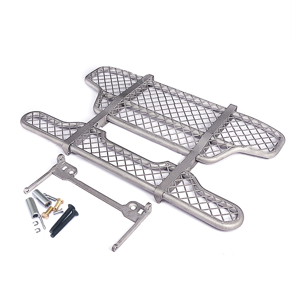 Metal Front Bumper Crash Barrier for 1/14 Tamiya Volvo FH16 RC Truck Tractor Upgraded Parts enlarge