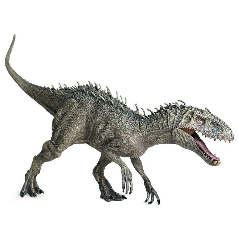 Indominus ريكس التماثيل مفتوحة الفم ديناصور الحيوان العالم الطفل لعبة مجسمة دمى هدايا تماثيل صغيرة على شكل حيوانات لعبة نماذج للحيوانات