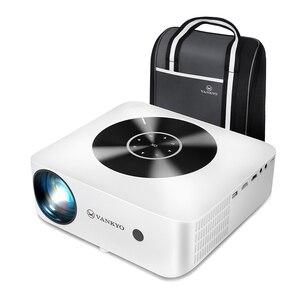 VANKYO 1080P мини-проектор для отдыха E30WQ Full HD 5G Wi-Fi светодиодный Поддержка 4K синхронизировать зеркальное отображение файл синхронизации Экран 200 дюймов