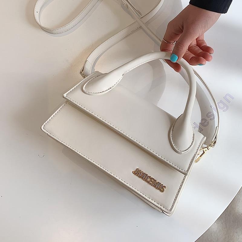 AliExpress - с доставкой Solid Color PU Leather Crossbody Bags Women's 2021 Female Shoulder Simple Bag Lady Mini Phone Purses luxury Handbags