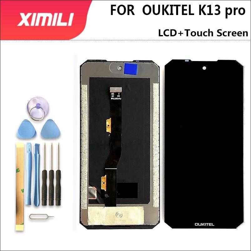 جديد OUKITEL K13 برو شاشة الكريستال السائل + شاشة تعمل باللمس 100% الأصلي اختبار LCD محول الأرقام زجاج لوحة استبدال لاستبدال K13 برو