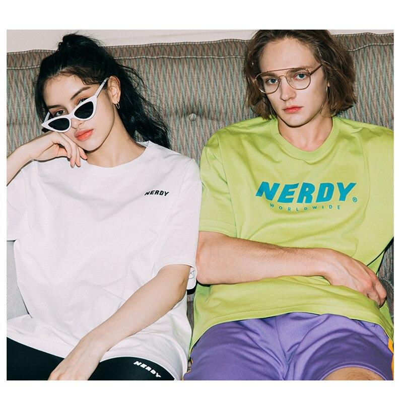 Camiseta de estilo veraniego para hombre y mujer, camiseta de alta calidad 11, camiseta de estilo Streetwear NERDY, camiseta