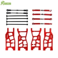 alloy suspension lt extended a arm with tie rod dog bone set for 15 losi 5ive t rofun rovan xlt lt kingmotorx2 rc car toy parts
