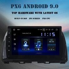 """Android 10.0 samochodowy odtwarzacz multimedialny dla mazdy CX-5 2013 2014 2015 Radio 10.2 """"ekran IPS nawigacja GPS DSP HDMI 4GB + 64GB Bluetooth 5.0"""