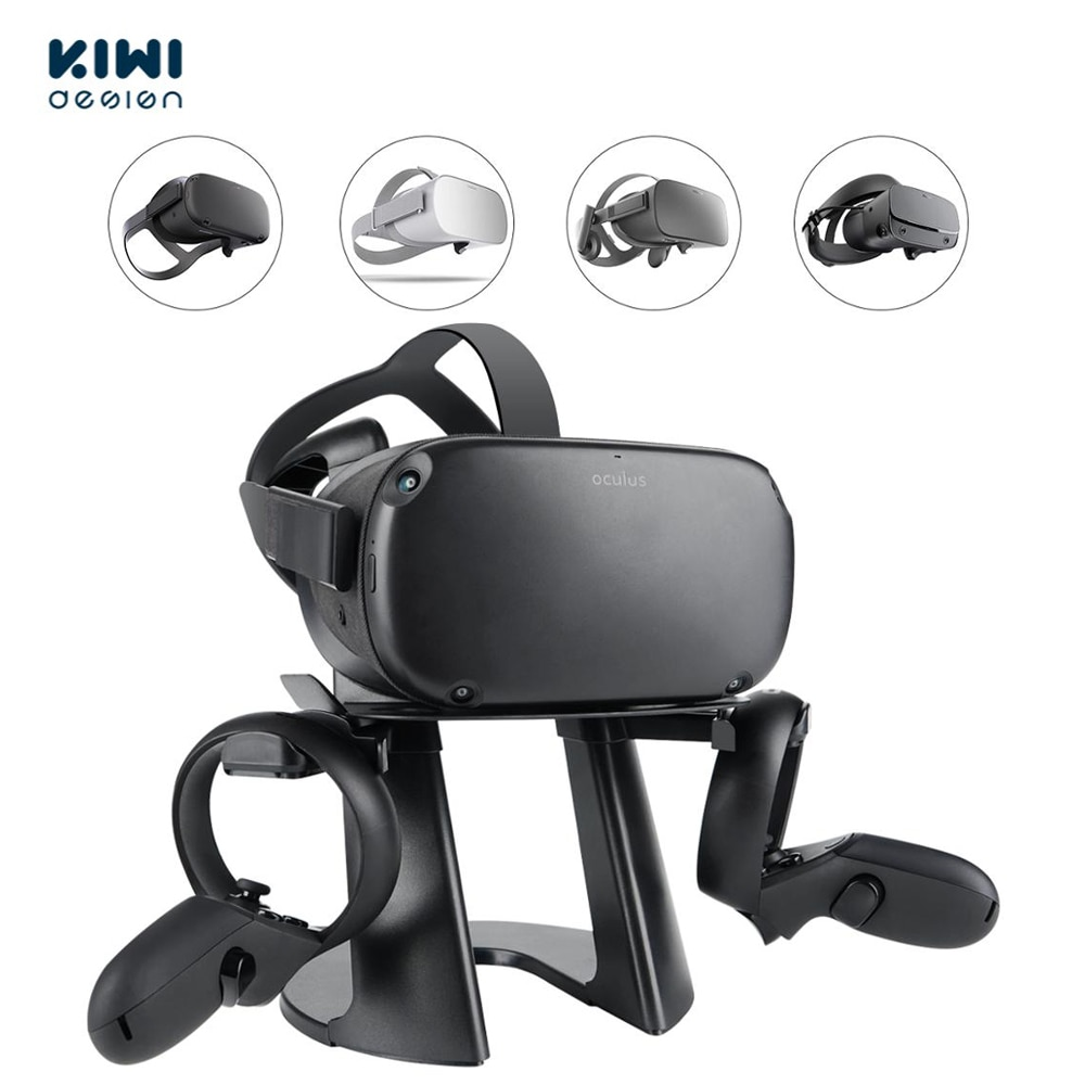 KIWI-حامل سماعة رأس VR ، محطة تثبيت لـ Oculus Quest2/Rift S/GO/HTC Vive/مؤشر الصمام