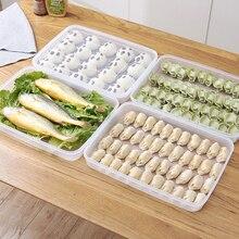 Cuisine boulette conteneur maison transparent congelé boulette boîte réfrigérateur frais-conservation boîte alimentaire congélateur boîte de rangement mx907951