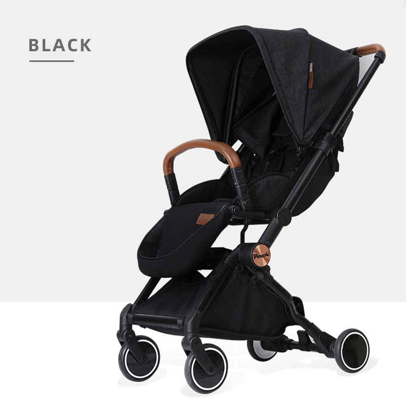 A50 Pouch baby stroller baby stroller simple baby stroller portable folding can sit and lie down enlarge