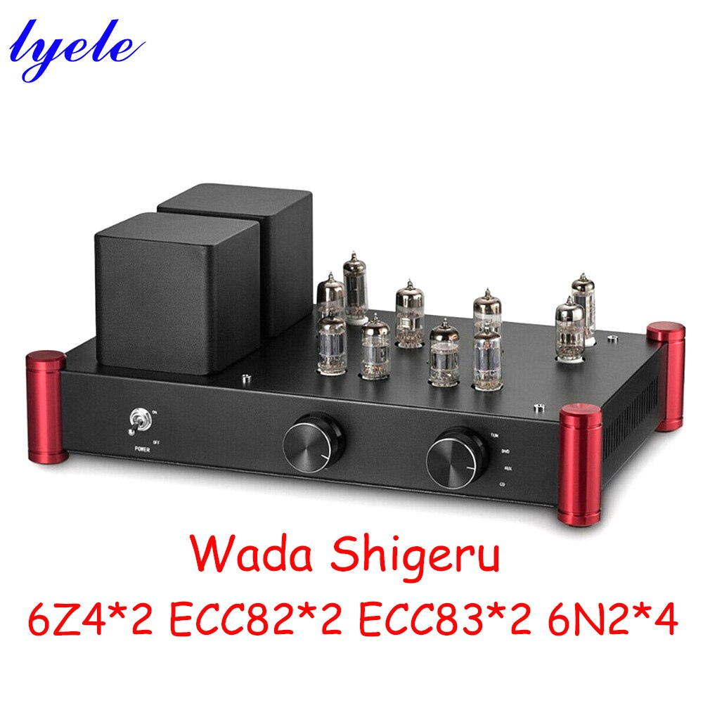 وادا شيغيرو 6N2 ECC82 6Z4 أنبوب مكبر للصوت تشويه 0.01%