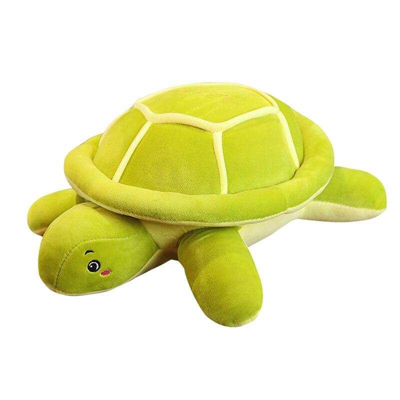 Caliente nueva tortuga de peluche tortuga de juguete almohada cojín de piso Mat gigante de peluche Animal relleno de la muñeca niños navidad regalo de cumpleaños