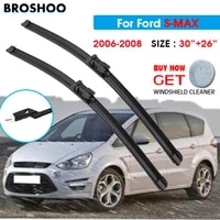 car wiper blade for ford s max 3026 2006 2007 2008 auto windscreen windshield wiper blade window fit push button arm