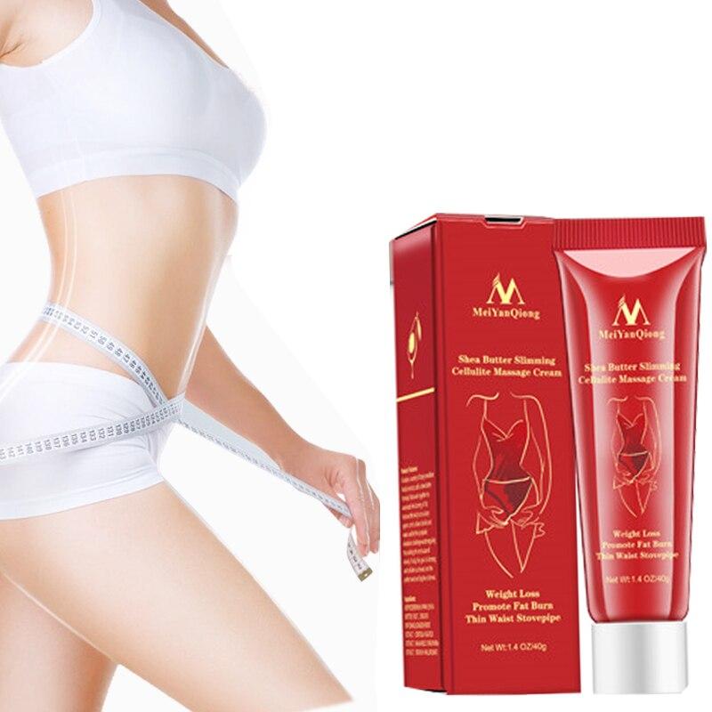 Meiyanqiong New Slimming Cellulite Massage Cream Health Body Slimming Promote Fat Burn Thin Waist Stovepipe Body Care Cream fat reduce belt massage vibration power plate thin body fat burn machine body waist massager