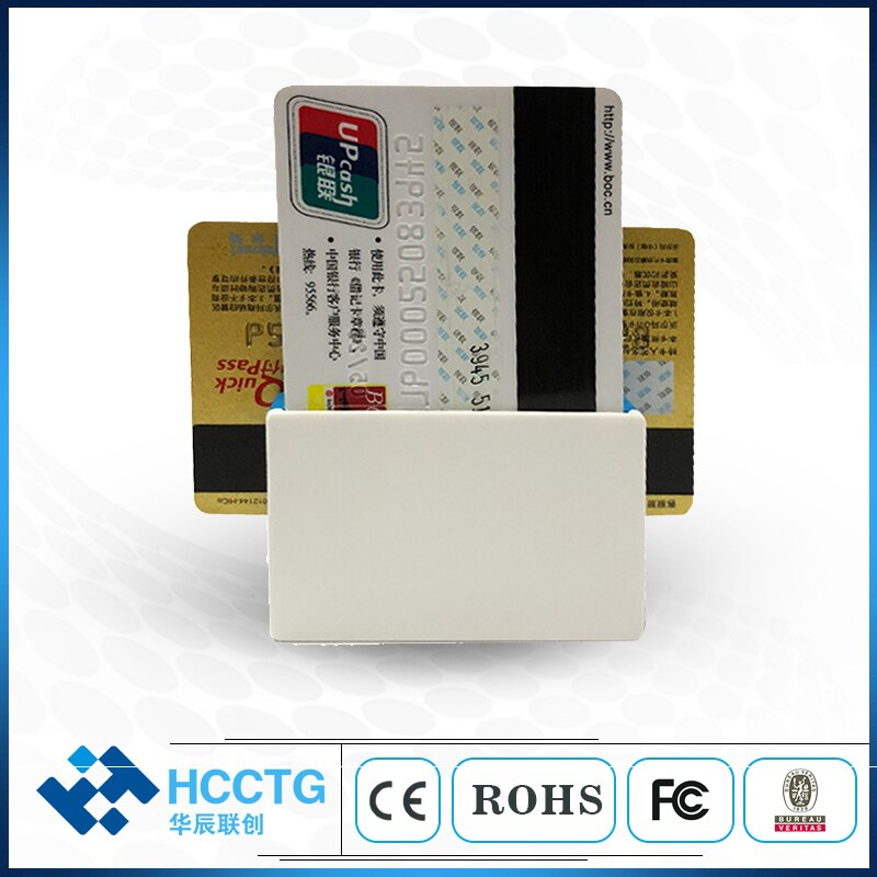 Lector de tarjeta inteligente EMV, tamaño Mini, Bluetooth magnético + CHIP IC track 1 2 3, teléfono inteligente POS con SDK gratis MPR100