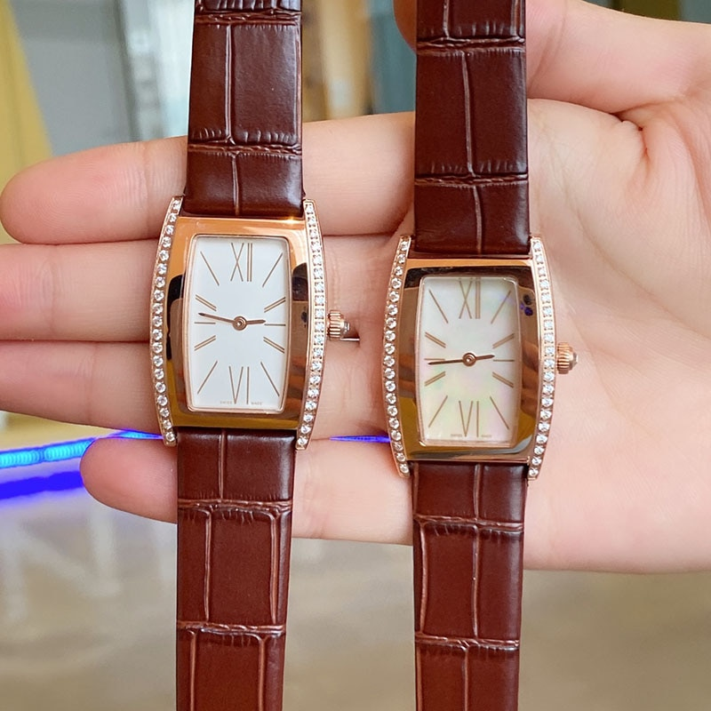Top Brand Women Watch Luxury Fashion Stainless Steel High Quality Belt Ladies Watch Quartz Roman For Couple Gift Watches 27*38mm enlarge