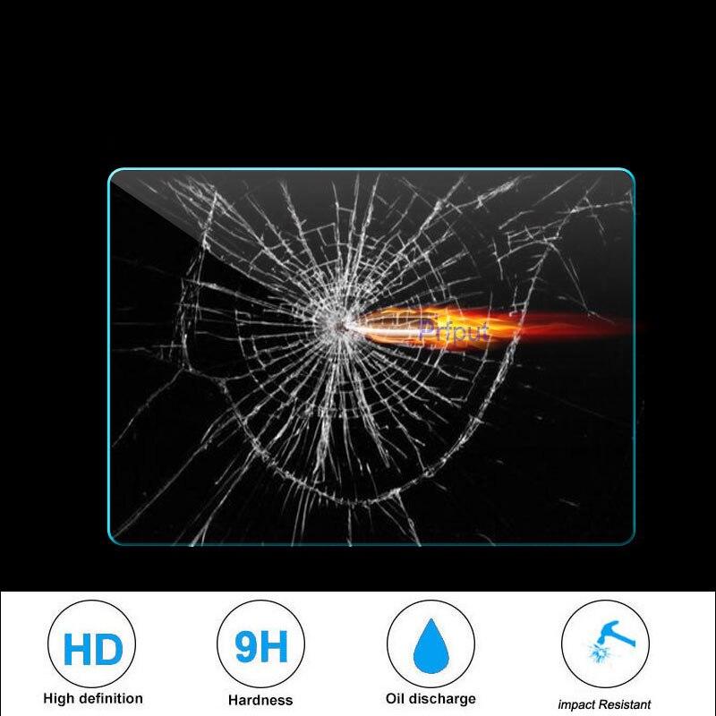 "Cristal templado Universal solo para tableta de 7 ""8"" pulgadas lector de libros electrónicos mp4 navegación gps para coche DVD ESTÉREO radio"