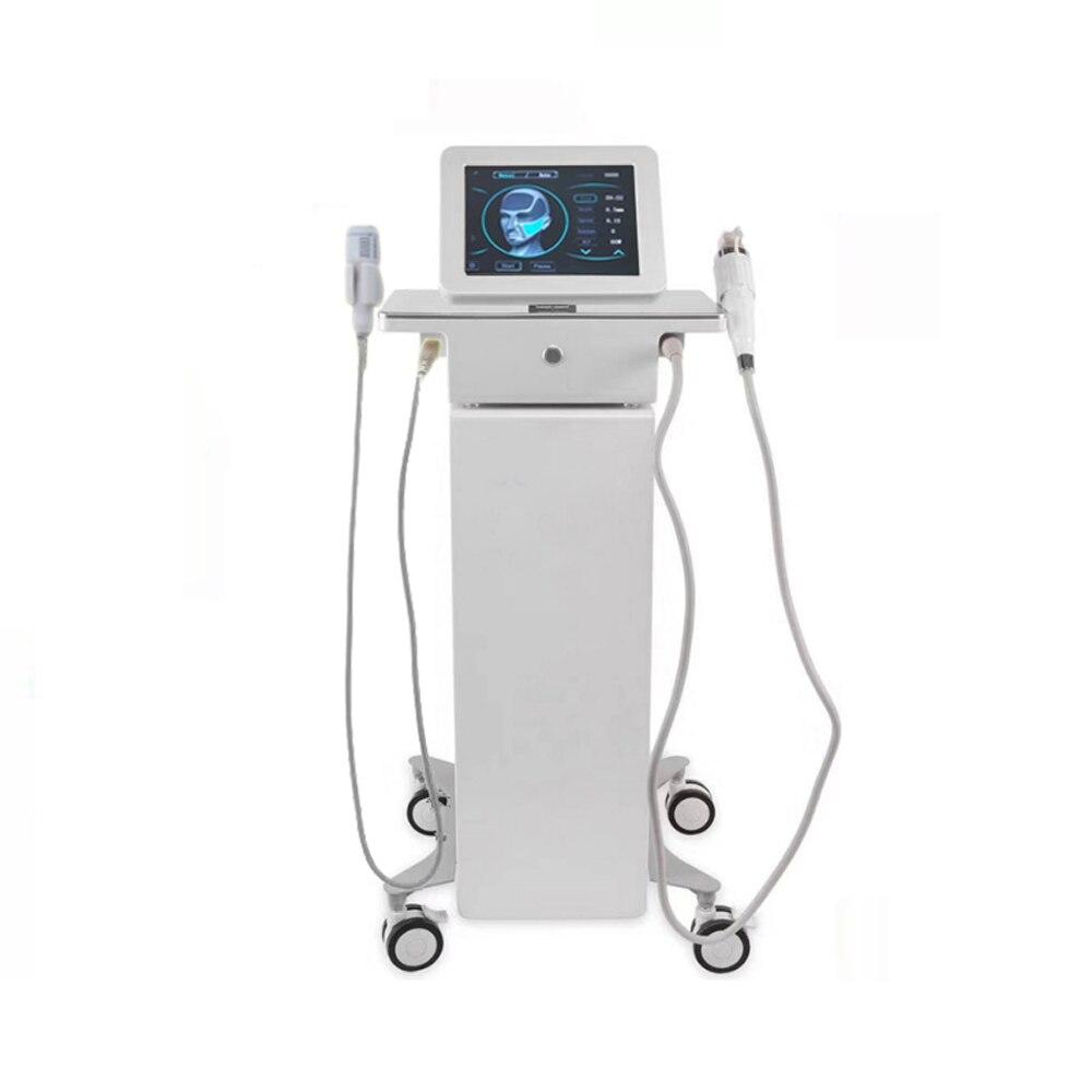 آلة إبرة دقيقة ، 2 في 1 Rf ، مع مطرقة باردة ، مضاد لحب الشباب ، تضييق المسام ، أداة العناية ببشرة الوجه ، مزيل علامات التمدد