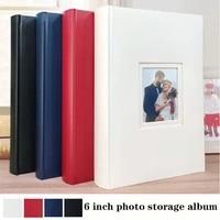 6 inch photo album 300 diy handmade leather paper photo album insert album creative gift photo album postcard storage book