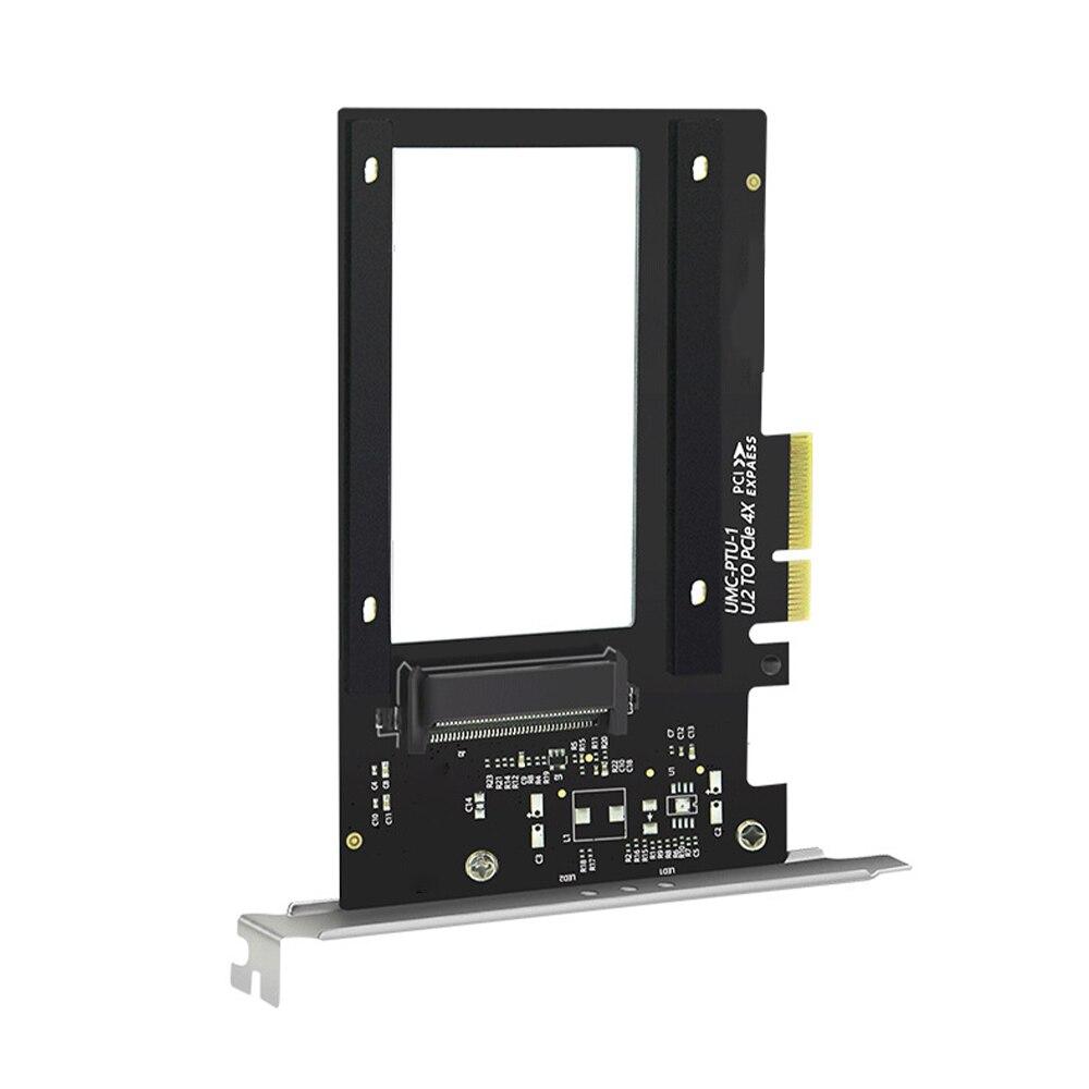 وصل حديثًا بطاقة مهايئ جديدة للحاسوب موديل رقم الولايات المتحدة 2 إلى PCI Express 3.0x4 بطاقة مهايئ توسيع محرك الأقراص الصلبة لجهاز الكمبيوتر الولاي...